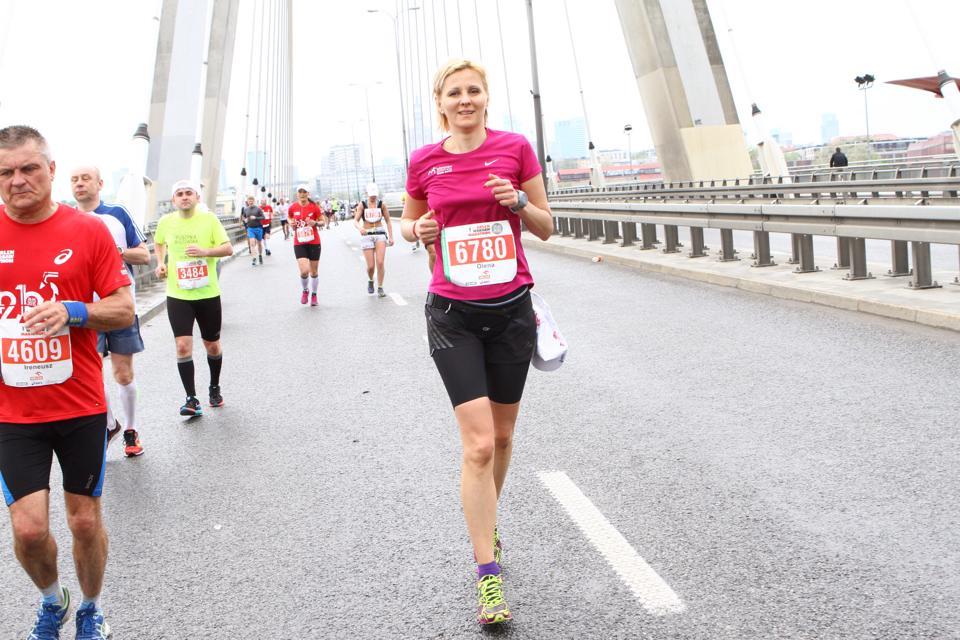Олена Бурдейна: Біг прекрасний тим, що дозволяє змагатися з самим собою … - photo