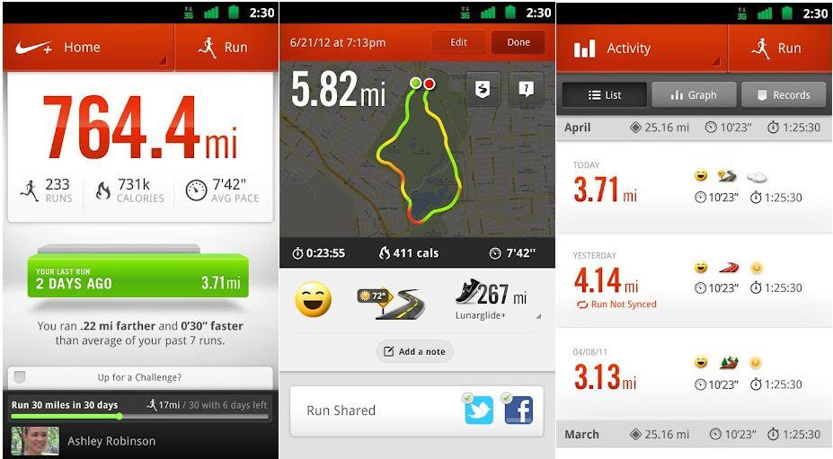SMART START. Nike + Running - photo