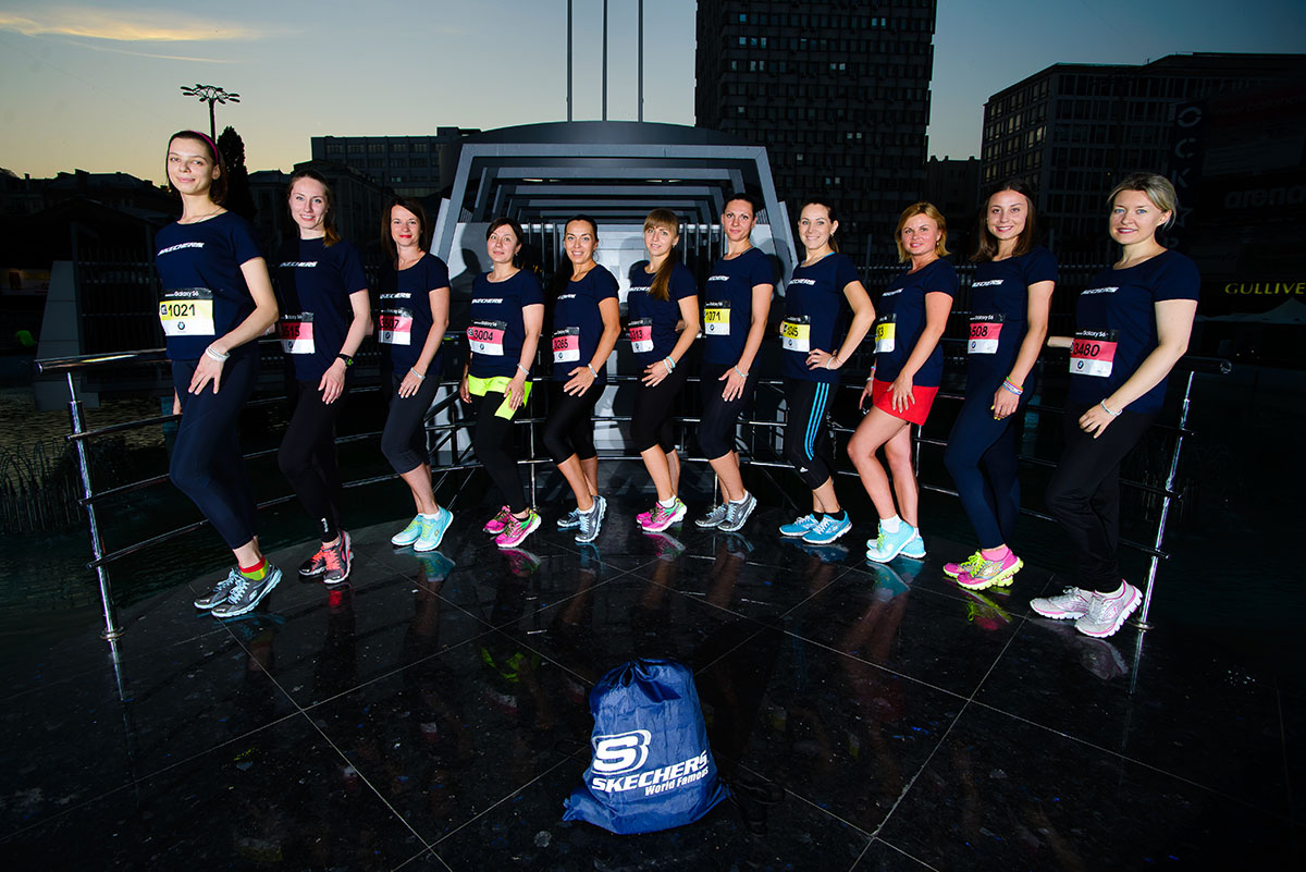 """Американский бренд  Skechers – спортивный партнер 24-го """"Пробега под каштанами"""""""