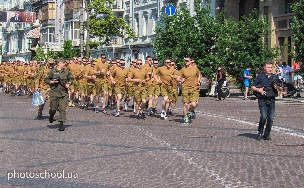 Вперше в «Пробігу під каштанами» взяла участь команда захисників України - photo