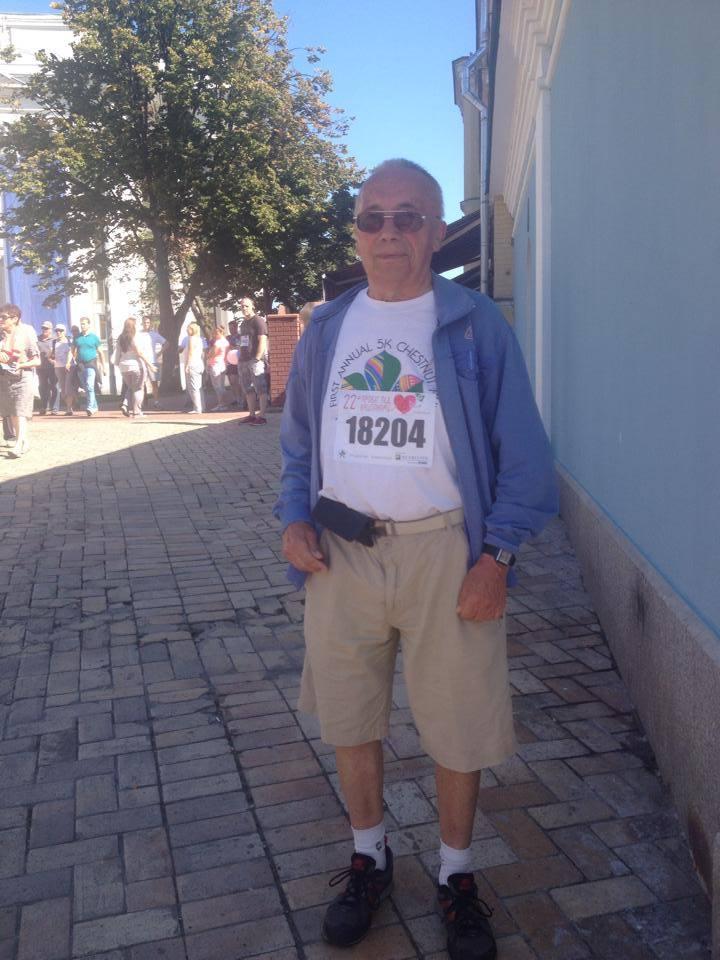 Валентин Титаренко: я принимал участие во всех 24-х Пробегах