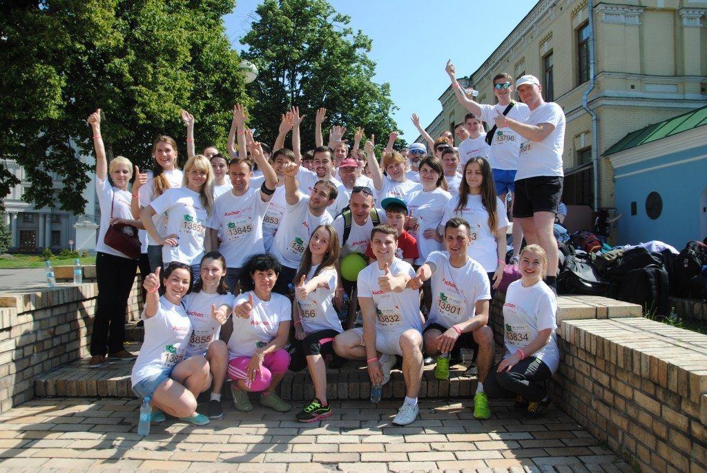 """Вп'яте співробітники Ашан Рітейл Україна вийдуть на старт """"Пробігу під каштанами"""" - photo"""