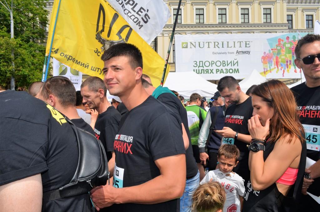 Врятовані від ампутацій бійці АТО взяли участь у «Пробігу під каштанами-2017» - photo