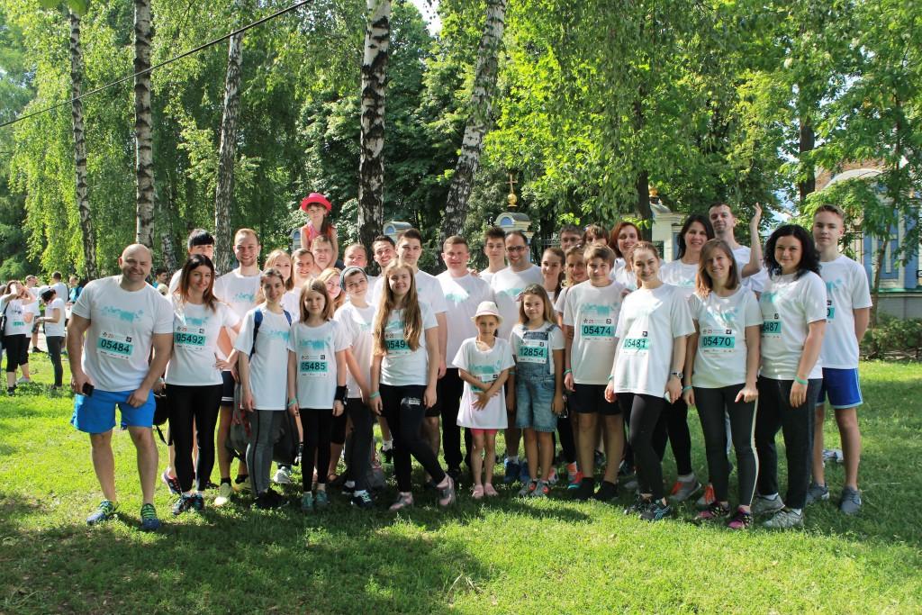 Команда «Марс Украина» в третий раз приняла участие в «Пробеге под каштанами» - photo