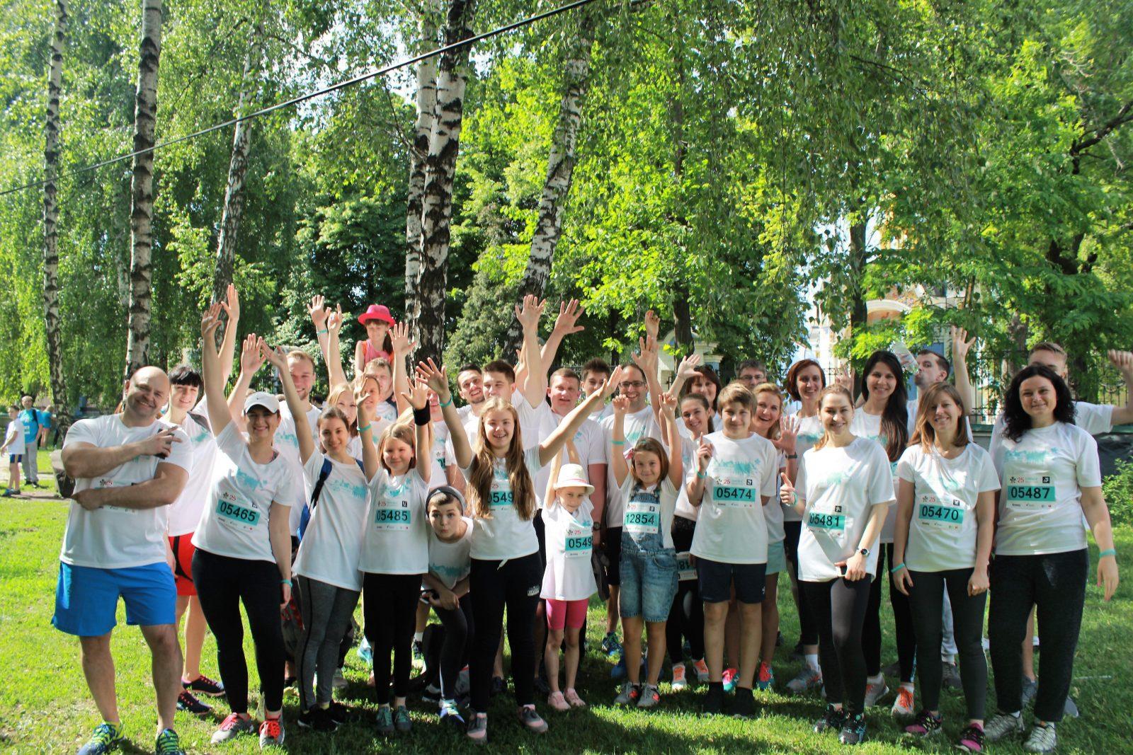 Команда «Марс Украина» в третий раз приняла участие в «Пробеге под каштанами»