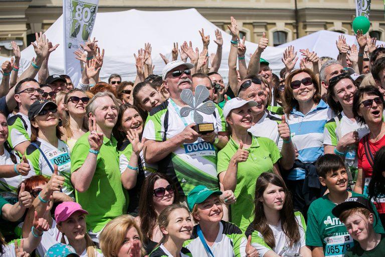 Компанія «Amway Україна», багаторічний партнер «Пробігу під каштанами», в цьому році підтримає відразу два забіги – Спортивний і «Пробіг Мужніх»
