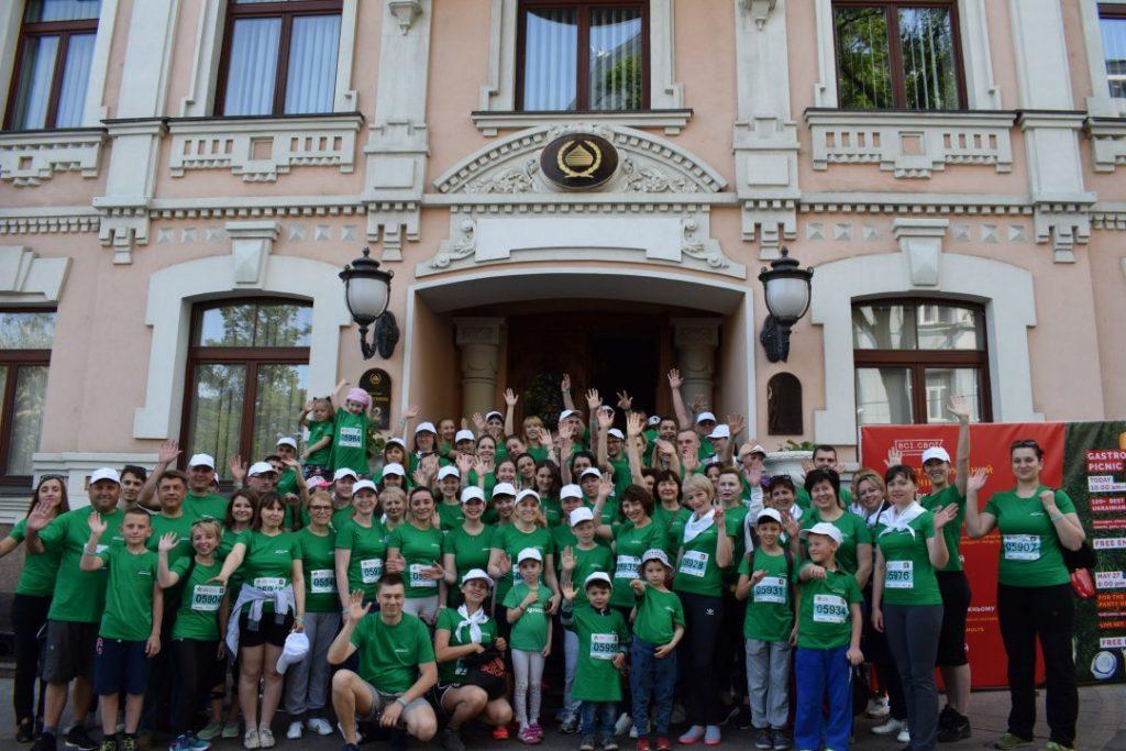 Команда «Фармацевтической фирмы« Дарница »поддержит« Пробег под  каштанами » - photo