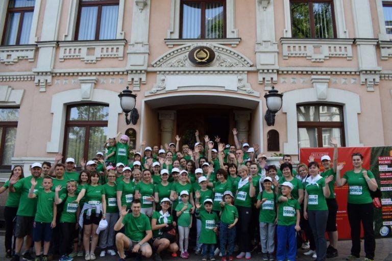 Команда «Фармацевтической фирмы« Дарница »поддержит« Пробег под  каштанами »