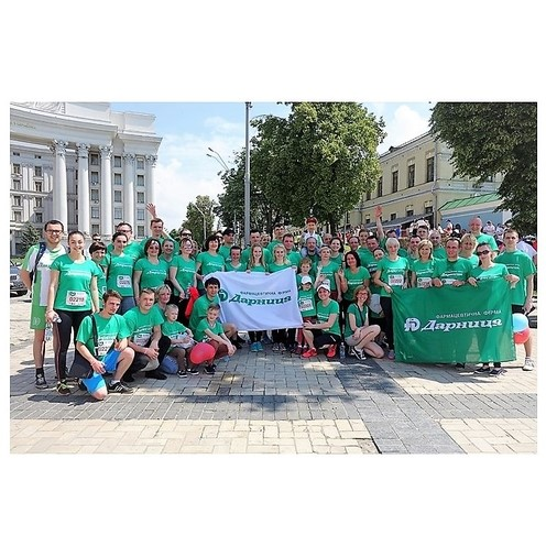 Фармацевтическая фирма «Дарница» принимает участие в 26-м Пробеге. - photo