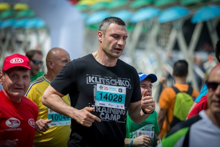 Виталий Кличко побежит вместе с киевлянами ради спасения детских сердец