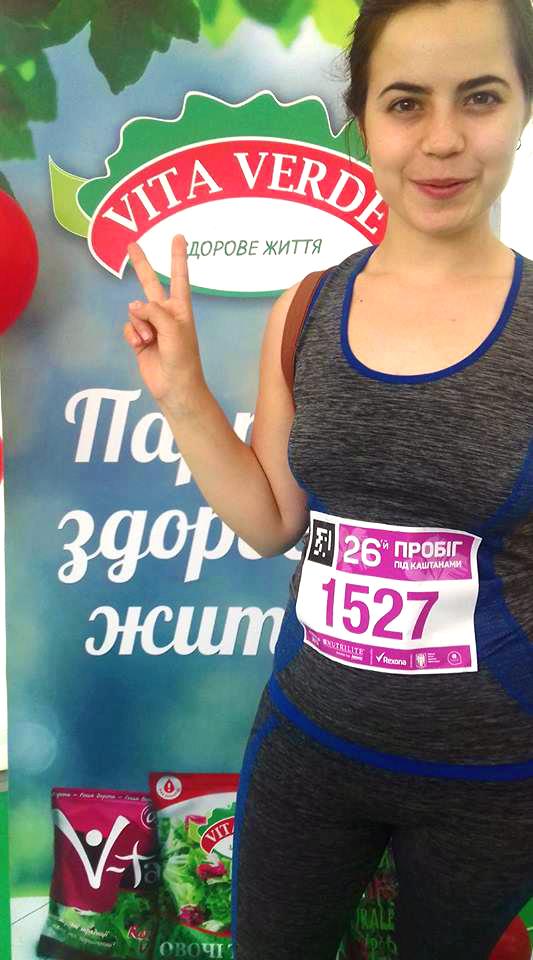 ТМ VITA VERDE встановила власний рекорд на Пробігу під каштанами - photo